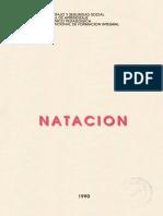 CARTILLA NATACION