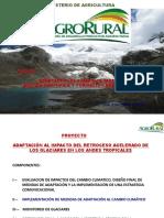 Cambio Climático Shullcas