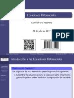 Diapositivas Ecuaciones Diferenciales