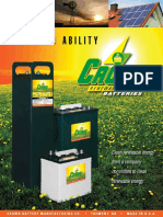 Crown Battery Sustainability