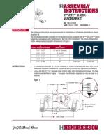 Kit de Amortiguador