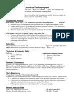 jonathan vanpaepeghem resume
