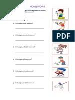 Modelo de Worksheet