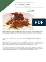 Recetas de Alitas de Pollo_ Gastronomía & Cía
