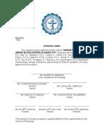 Approval Sheet -Ferritin
