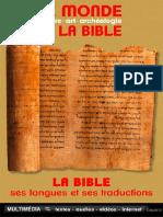 La Bible Ses Langues Et Ses Traductions