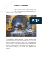 Historia de La Cocina Peruana