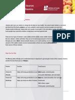 Factsheet Common Vitamins Eng