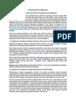 Akuntansi Pendapatan ~ Beberapa Macam Metode Pengakuan Pendapatan