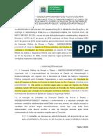 Edital de Abertura Escrivao e Investigador
