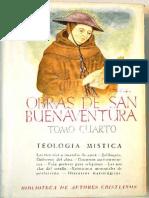 Buenaventura de Fidanza - Obras Completas IV, Madrid, 1947