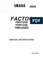 Manual de Montagem YBR 125 Factor 2009