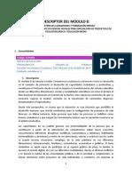 Descriptor Modulo 8 Ccss Especialistas de Trcer Ciclo y Media Competencias Ciudadanas y For