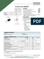 Sihw33n60e MOSFET