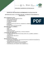 Metodologia Anteproyecto Residencias