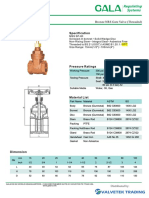 1 Gala Bronze Gate Nrs Valve Fig 3152