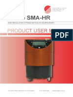 Gecko SMA HR User Manual