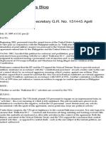 Lim vs. Executive Secretary G.R. No. 151445 April 11, 2002   Angel Capacio's Blog