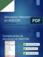 Simulación Mecánica en ANSYS®