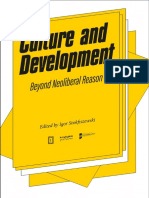Culture and Development Beyond Neoliberal
