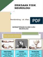 Tutorial Pemeriksaan Fisik Neurologi