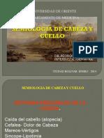 2. Semiologia de Cabeza y Cuello 2014