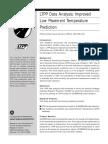 LPTT Data Analysis Improved Low Pavement Temperature Prediction