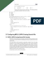 Configuring MPLS L3VPN Crossing Several ASs