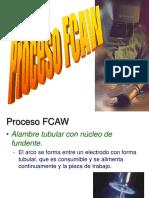 Proceso FCAW