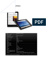 Catalogo de Tablet