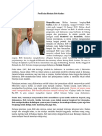 Profil Dan Biodata Bob Sadino