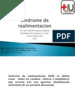 sindrome de realimentacion