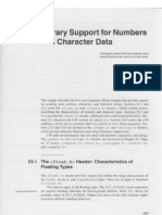 23. Library Support for Numbers and Character Data