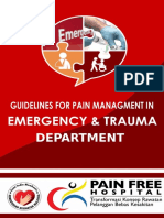 Pain Management in Emergency Trauma Department