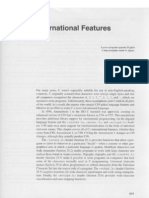 25. International Features