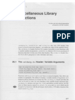 26. Miscellaneous Library Functions
