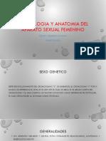 Embriología y Anatomía Del Aparato Sexual Femenino