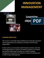 L-1 Innovation Management