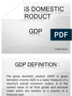 Gross Domestic Product of India
