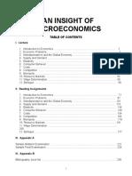 An Insight of Microeconomics