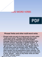 Two Word Verbs