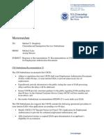 Uscis Response to Cisomb Recommendation35!01!02 09
