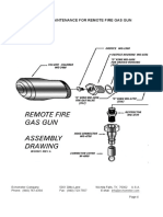 Remote Fire Gas Gun Explosion Diagram