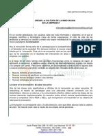 ARWE4. Como crear la cultura de la innovacion en la empresa [PartnerConsulting]. Ponce. 2012.pdf