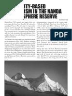 Community-Based Ecotourism in the Nanda Devi Biosphere Reserve