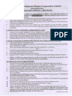 Checklist Legal Documents