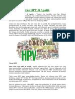 Obat Anti Virus HPV Di Apotik