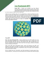 Obat Anti Virus Pembunuh HPV