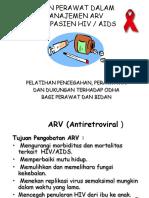 Peran Prwt Dlm ARV (Farmasi)