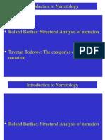 Narratology  Barthes-Todorov.ppt